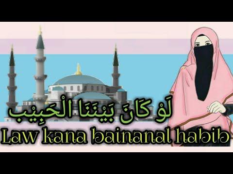 law-kana-bainanal-habib-لَوْ-كَانَ-بَيْنَنَا-الْحَبِيْب-(animasi-lirik)