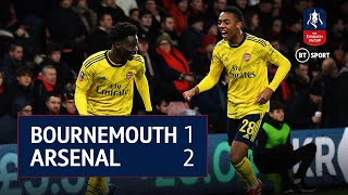 Bournemouth v Arsenal (1-2) Emirates FA Cup Highlights