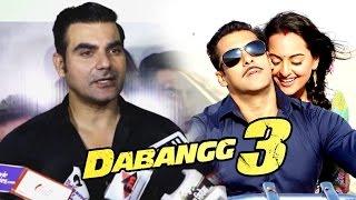 Arbaaz khan reveals details of salman khan's dabangg 3