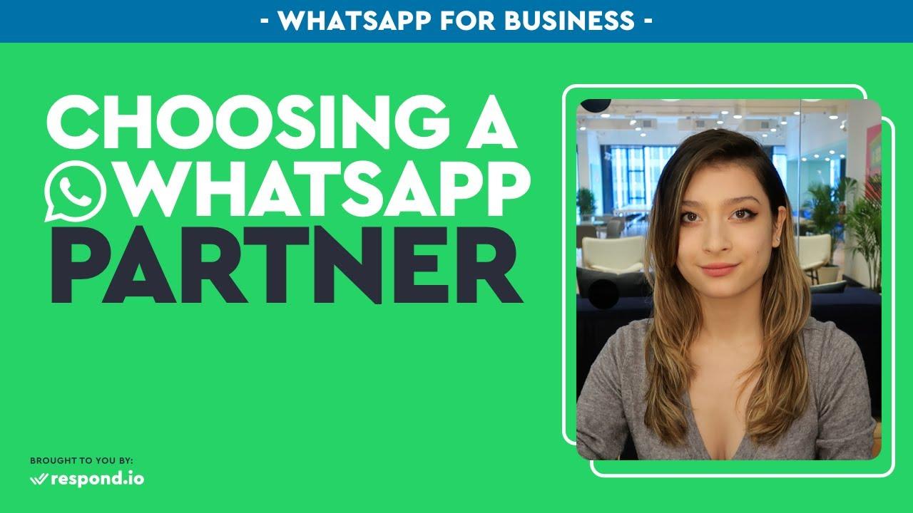Whatsapp Business Api Pricing Whatsapp Partner Comparison Sept 2020