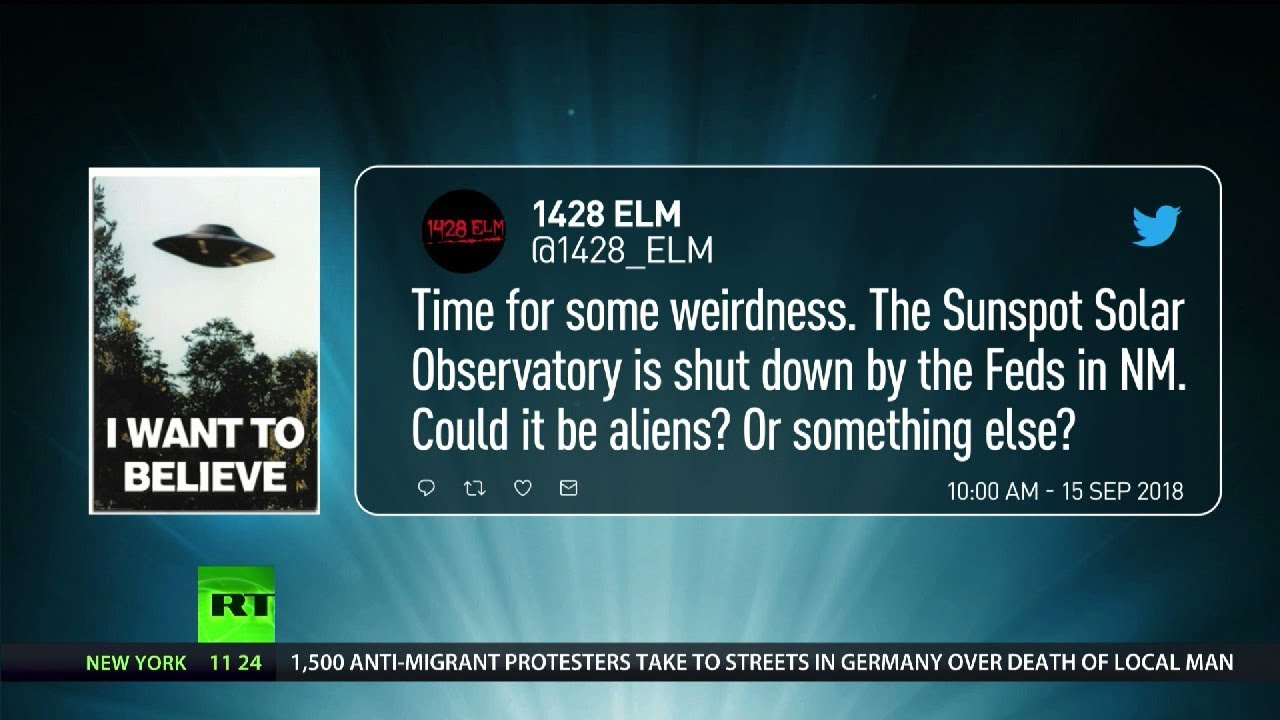 Twitter left wondering why solar observatory has re-opened