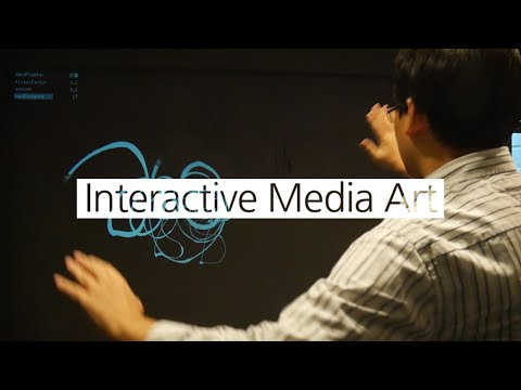 Projection Mapping - Interactive Media Art