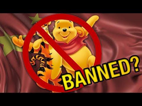 China BANS Winnie the Pooh?