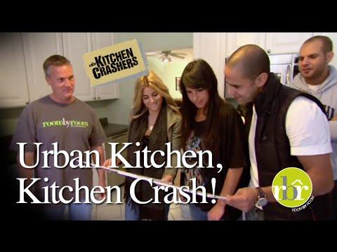 HGTV Kitchen Crashers   Urban Kitchen Crash   YouTube