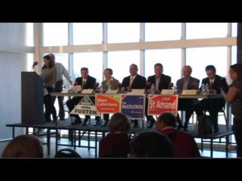 2011 Federal All-Candidates Debate (Brant Riding)