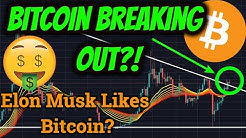 Bitcoin Breaking Out Right Now?! Elon Musk Likes BTC? (Cryptocurrency News + Trading Price Analysis)