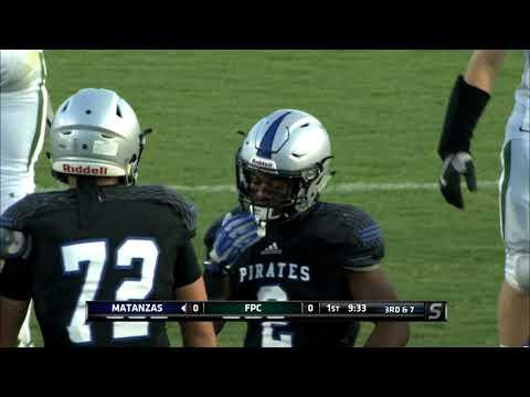 High School Football - Matanzas V Flagler Palm Coast HS Football 8-25-17