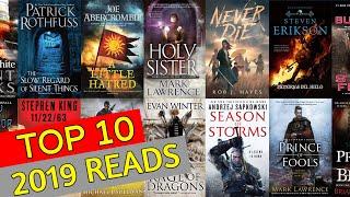 TOP 10 BOOKS I READ IN 2019! 📖