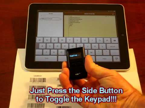 iPad Bluetooth Barcode Scanner, iPhone Barcode Scanner