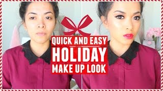 Holiday Makeup Look! Chit-Chat Talk Through Video!