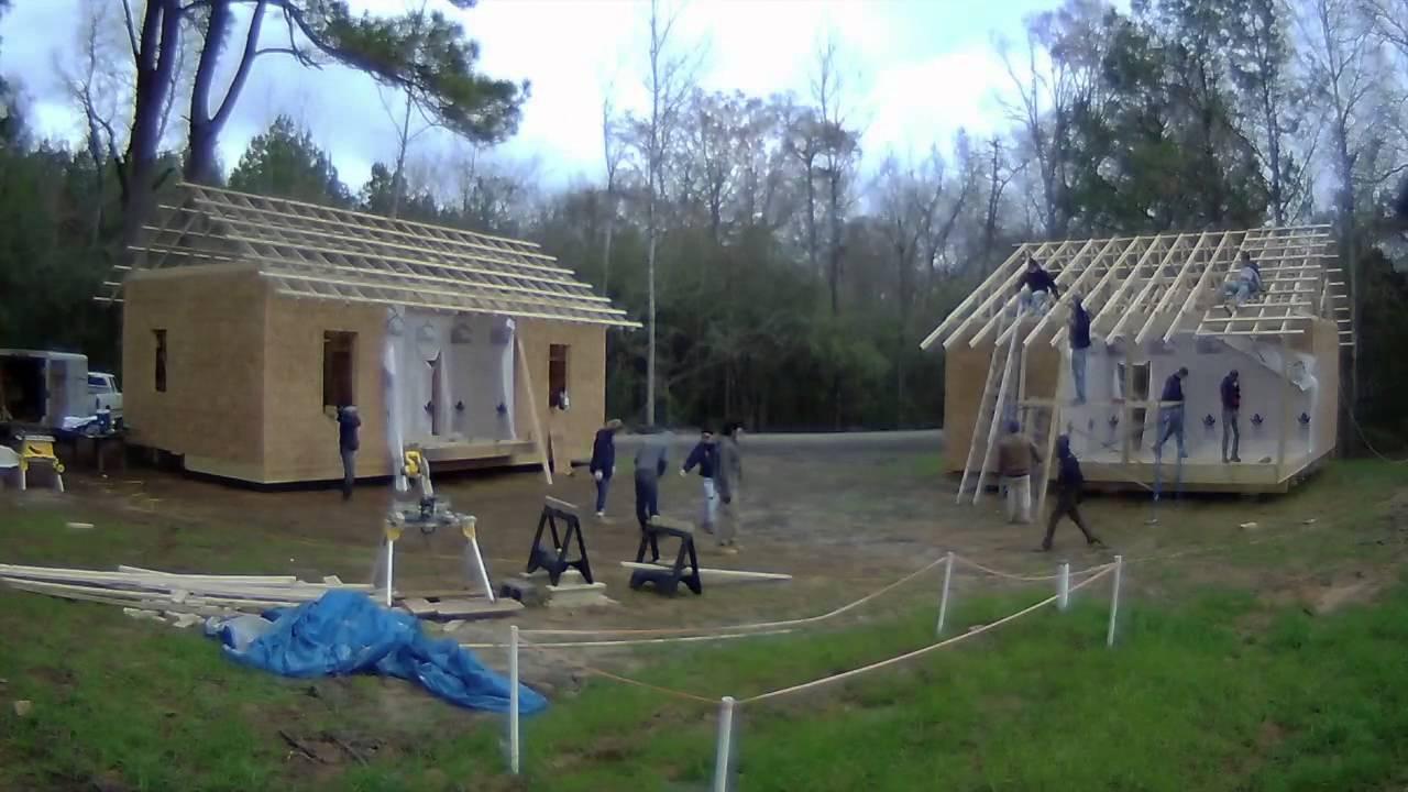 Rural studio 20k house model home construction timelapse for Build a home for 20k