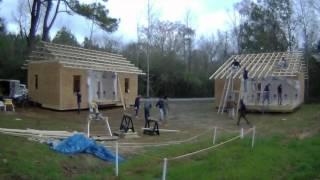 Rural Studio 20K House - Model Home Construction Timelapse by Timothy Hursley