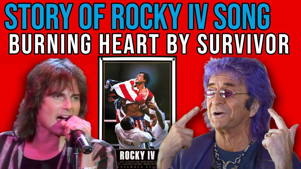 Jim Peterik on Story of Rock IV's Classic Survivor Song Burning Heart   Pop Fix   Professor of Rock
