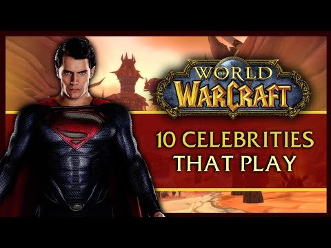 10 Celebs That Surprisingly Play World Of Warcraft