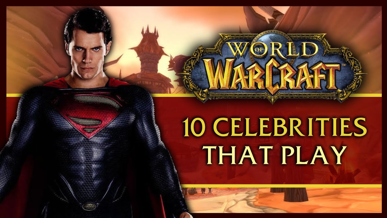 10 Celebs that Surprisingly Play World of Warcraft thumbnail