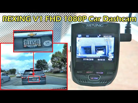 REXING V1 Car Dashcam FHD 1080P Full Review