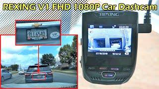 REXING V1 Car Dashcam FHD 1080P Full Review