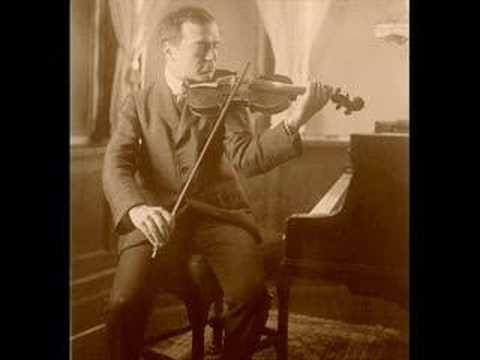 Bronislaw Huberman, Nocturne Op.9 No.2 (Chopin)