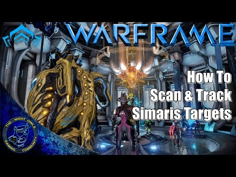 Warframe How To: Track & Scan Cephalon Simaris Enemy Targets