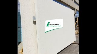 Architectural Precast Wall Cladding Panel Production Sequence in Timelapse