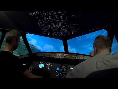 "ПОЛЁТ НА АВИАТРЕНАЖЕРЕ ""TFT AERO"" Airbus A320"