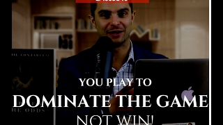 You Play to Dominate the Game, Not Win! | RC013