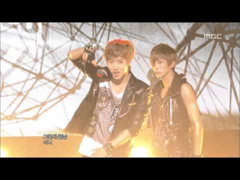 100% - Bad Boy, 백퍼센트 - 나쁜 놈, Music Core 20121013