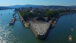 Koblenz, Rheinland Pfalz | Seilbahn, Deutsches Eck, Festung Ehrenbreitstein