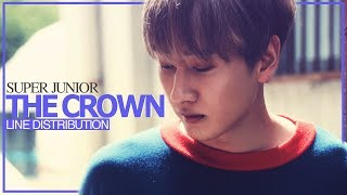 Download lagu SUPER JUNIOR - THE CROWN (Line Distribution) with Adlib/Highnote Boost