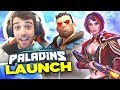 Paladins 1.0 GAME LAUNCH - First Look Gameplay!