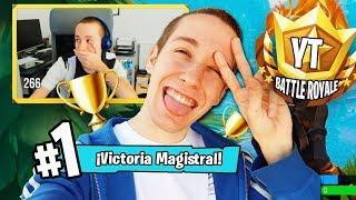 GANO El TORNEO DE #YTBattleRoyale (y pierdo 500€) - Fortnite | Celopan