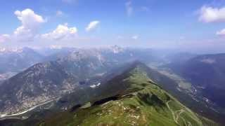 Paragliding in the Julian Alps