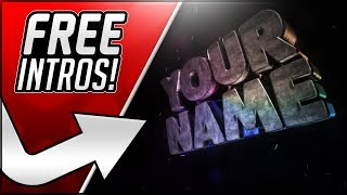 How To Make An Intro For Your YouTube Videos For FREE! 2018 Intro Maker Tutorial