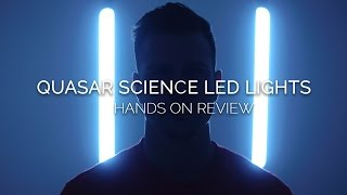 Quasar Science LED Lights: Hands On Review & Lighting Examples