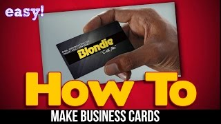 The Business Card Creator by Laughingbird Software