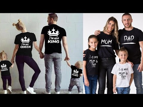 Family T- shirt Design Ideas For 2018