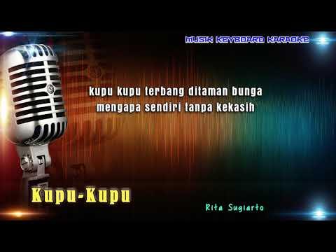 Rita Sugiarto - Kupu Kupu Karaoke Tanpa Vokal