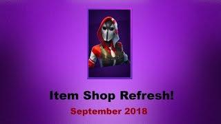 Fortnite Item Shop Refresh! (9/3/18)