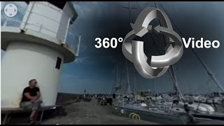 360° VR Video [360 VR] 밤비노  Skanörs hamn Sweden