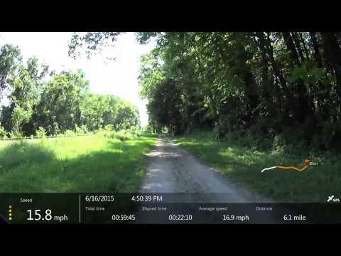 The Portage Bike Trail 061615