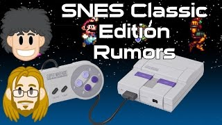 SNES Classic Edition Rumors - #CUPodcast