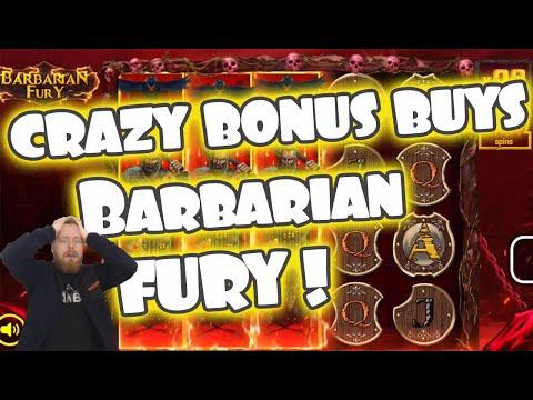 Barbarian Fury Bonus Buys! NEW NoLimit City Game!