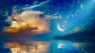 10 hours of deep sleep music☁(dark screen after 10minutes)sleep rest music, insomnia treatment music