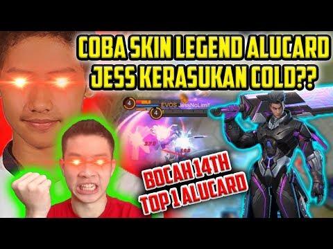 COBA SKIN LEGEND ALUCARD, JESS KERASUKAN COLD TOP 1 ALUCARD??