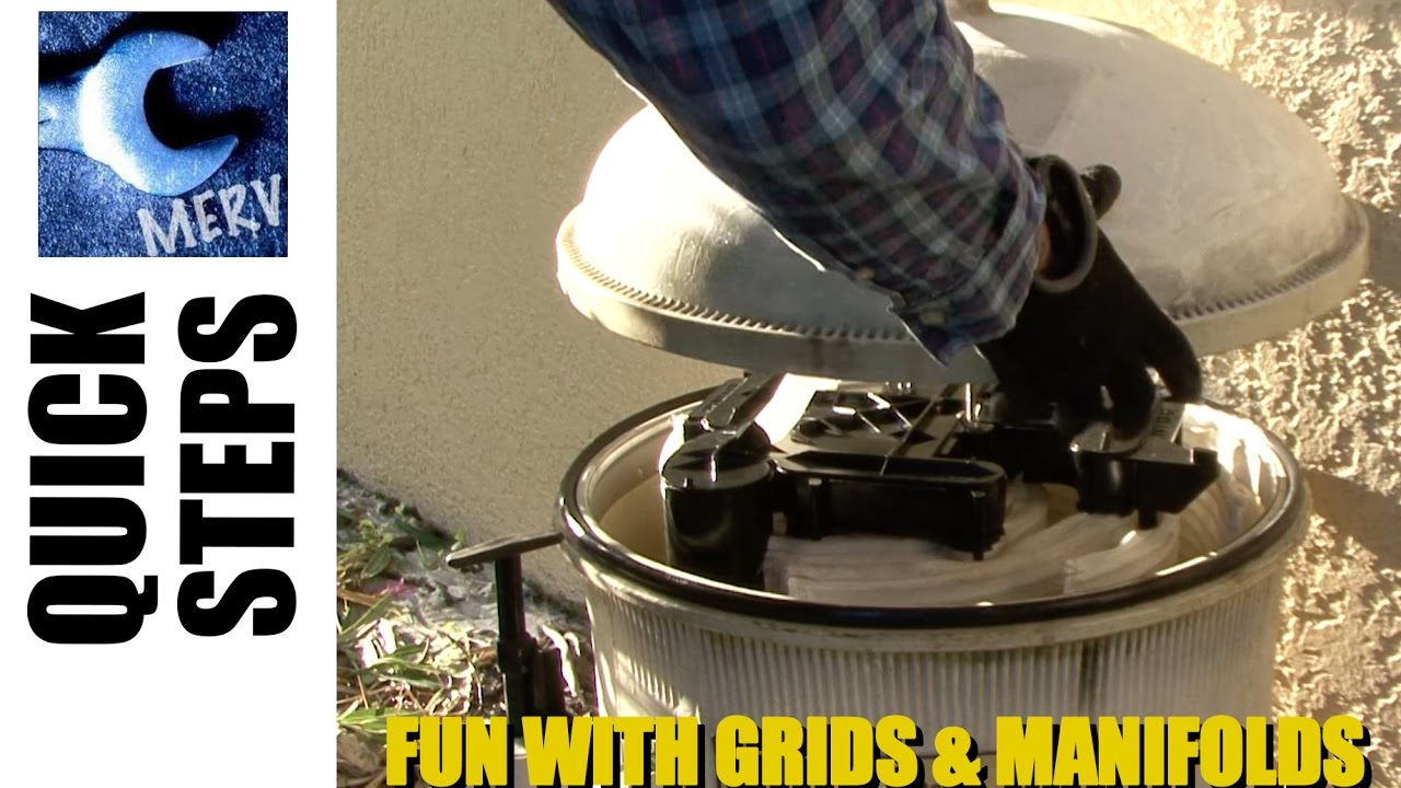 De Filter Grid Replacement And Cleaning Tricks For Hayward Pentair American D E Pool Filters