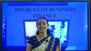 I PUC    BUSINESS STUDIES   SOURCES OF BUSINESS FINANCE  - 4