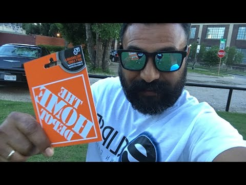 Home Depot Gift Card Give Away