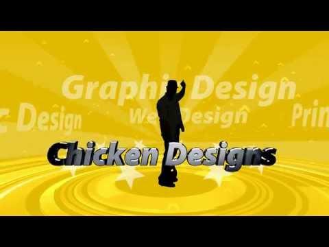 Chicken Designs Video Introduction (Web Design HTML5 / FLASH)
