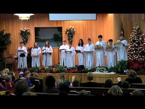 Clear Creek Christian School 6th Grade Chapel 12-16-11