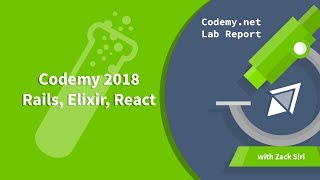 Codemy 2018 - Rails, Elixir, React - Lab Report [005]